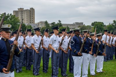 2014 New Cadet Parade