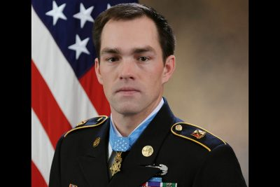 Medal of Honor recipient Clinton L. Romesha