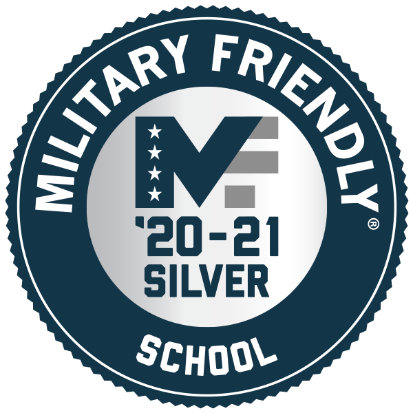Military Friendly: Silver School logo